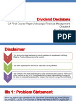 Fp 2 Ch 6 Dividend Decisions