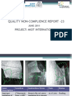 Quality NCR - MEP#23