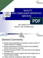 Quality NCR#25