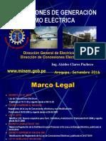 Autorizaciones de Generación Termoelectricas Set1 2016