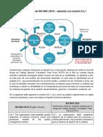 Traducción al Español de ISO 9001 – atención a la oración 6.2.1