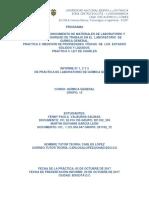 Informe de Laboratorio Práctica 1,2 y 3.