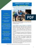 UNHCR External Update July_September 2017