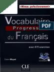 Vocabulaire Progressif Du Français Avec 675 Exercices Et Corrigés
