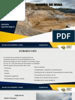 Diseño de Mina Los Andes