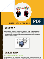Diapos Inteligencia Multiple