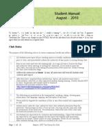 FFTKD Club - Student Manual - 20100814