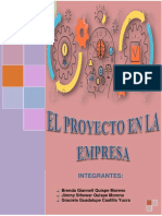 El Proyecto en La Empresa (Word)