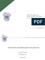 Invitado Especial # 6 Evaluacion Del Desempeno