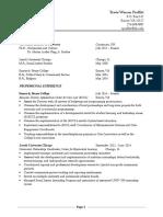 travis warren proffitt resume-cv