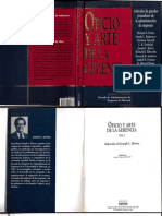 Arte y Oficio de La Gerencia I - Joseph Bower