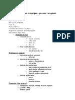 Plan de Ingrijire a Pacientei Cu Vaginită