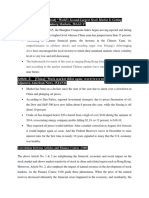 Financial Articles and FIN3100