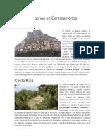 Indígenas en Centroamérica