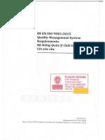 EN ISO 9001-2015 E&V