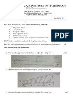 Engg. Mechanics Paper