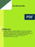 Intervenciones Quirurgicas Cardiovasculares Clase