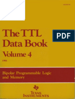 The TTL Data Book Vol 4 1986