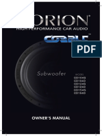 Cobalt Subwoofers (1)