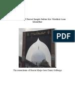 The Biography of Hadrat Sangde Sultan of Qandhar