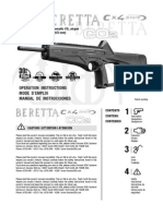 Manual Beretta Cx4Storm Letter