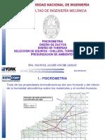 3.- Psicrometria y Diseño de Ductos UNI-FIM-2012