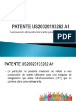 PATENTE US20020193262 A1