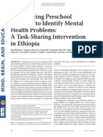 (2017) Empowering Preschool Teachers to Identify Mental Health Problems a Task-Sharing Intervention in Ethiopia