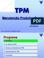 TPM - Total Productive Maintenance - Parte 1