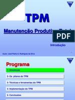 TPM - Total Productive Maintenance - Parte 1