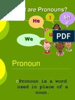 Pronouns Prestation