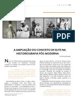 Elite Na Historiografia Pos-moderna-Rodrigo Amaral.cp.Rb