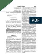 D.S. N° 080-2011-EF
