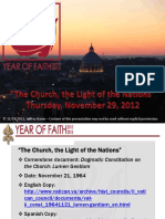 Year of Faith - Lumen Gentium