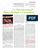 Strane Analogie Tra Neocatecumeni e Massoni