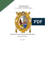 Carmen Ollé y La Resignificación Del Cuerpo Femenino. Billy Cholan