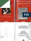 Sancinetti Marcelo - Ilícito Personal y Participación