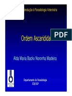 Ordem Ascaridida - USP