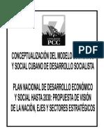 Tabloide Sistema Economico Cuba