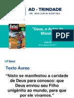 Deus o autor de missões - Licao 6
