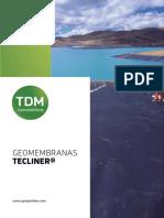 Geomembrana TECLINER  - TDM