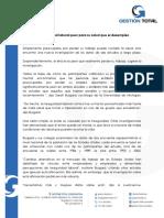 20170905 La Inseguridad Laboral Peor Para Su Salud Que El Desempleo