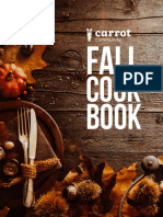Carrot Community Fall CookBook