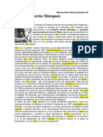 Autobiografia de Gabriel Garcia Marquez