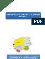 ARBOL de PROBLEMAS Contaminacion en Chimbote