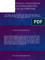 Estudios Técnicos y Aplicación de Las Nuevas Tecnologías