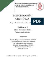 Metodologia Linea de Tiempo