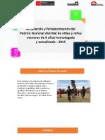Ppt Talleres Macro Regionales Version Final 2015