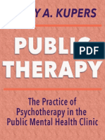 Public Therapy by Terry Kupers