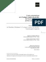 O pós-colonialismo em O alegre canto da perdiz, de Paulina Chiziane - pontos convergentes.pdf